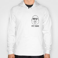 my mad fat diary Hoodies featuring FAT VINNIE by TRUJI
