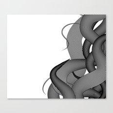 Hairy Waves Canvas Print