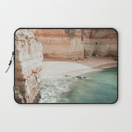 One of the beautiful beaches in the Algarve, Portugal Laptop Sleeve