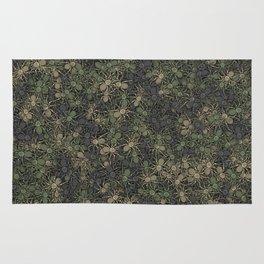Spider camouflage Rug