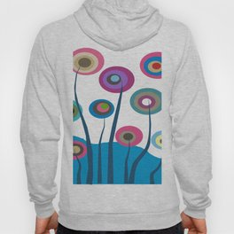Artsy and Funky Floral Art Hoody
