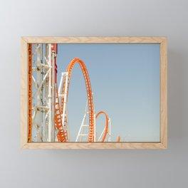 Coney Island Thunderbolt Framed Mini Art Print