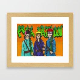 Who Runs the World.... Framed Art Print