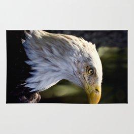 Proud Bald Eagle Rug