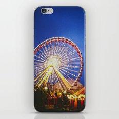 Farris Wheel iPhone & iPod Skin