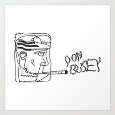 Don Busey Art Print
