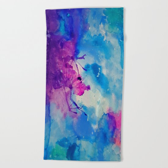 Emanate Beach Towel