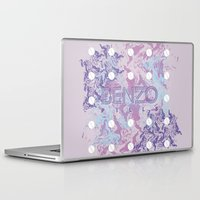 pills Laptop & iPad Skins featuring Benzo Pills by chobopop