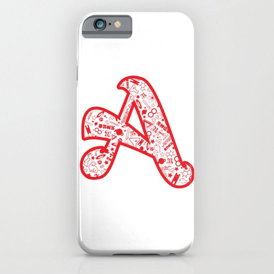 Scarlet A - Version 2 iPhone & iPod Case