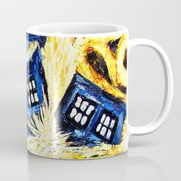 Tardis By Van Gogh - Doctor Who Coffee Mug