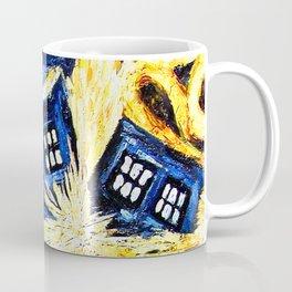 Tardis By Van Gogh - Doctor Who Coffee Mug