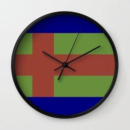 Jutland Flag Wall Clock