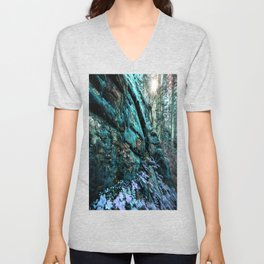 Enchanted Forest Wall Unisex V-Neck