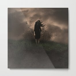 A Force to be Reckened With Metal Print