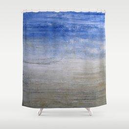 """1236-1 abstract beach"" Shower Curtain"