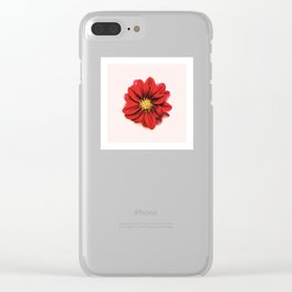 Sunken Flower Clear iPhone Case