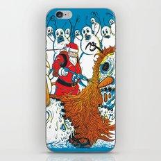 Santa's Last Stand iPhone & iPod Skin