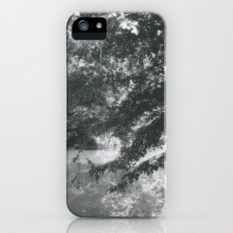 Trees Over Water iPhone Case