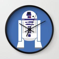 Star Wars Minimalism - R2D2 Wall Clock