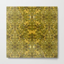 treasure land. sacred geometry. seamless pattern Metal Print