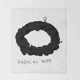 Radical Hope Throw Blanket