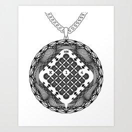Spirobling XVI Art Print