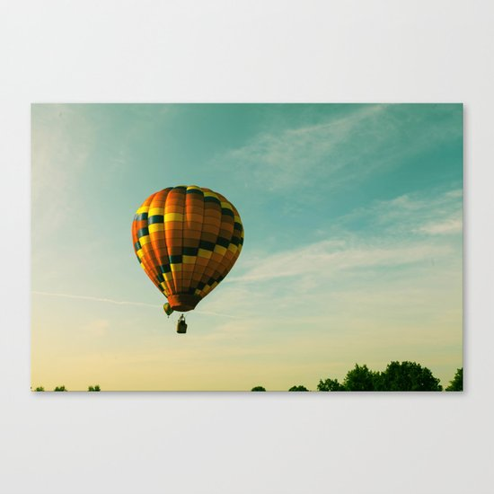 Touching The Tree Tops Canvas Print
