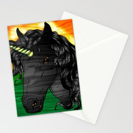Jamaican Unicorn Stationery Cards