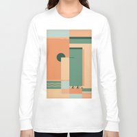 deco Long Sleeve T-shirts featuring Deco by ktparkinson