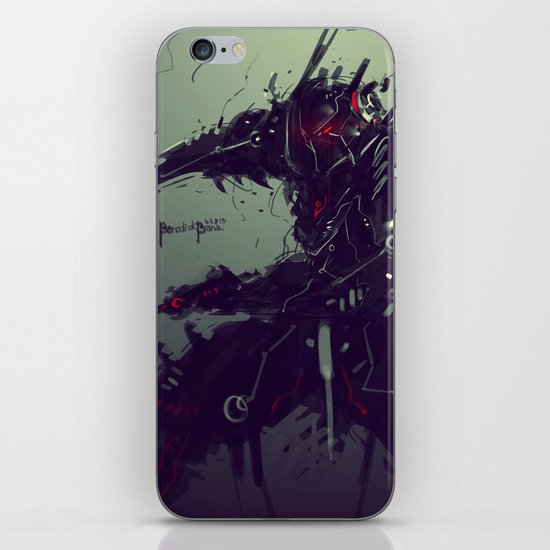 "Judgement Day ""Solaris"" iPhone & iPod Skin"
