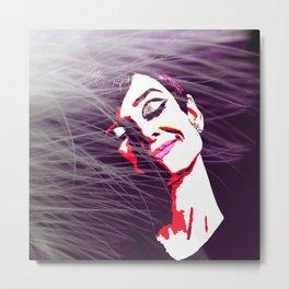 Audrey Hepburn (9) Metal Print