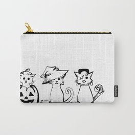 Hallow-Kitties Carry-All Pouch