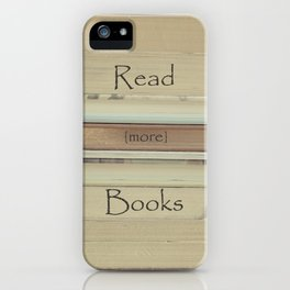 Read More Books iPhone Case