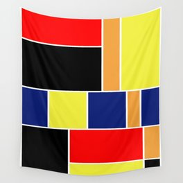 Abstract #404 Wall Tapestry