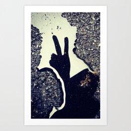peace. Art Print