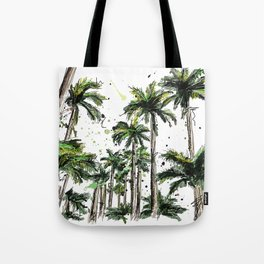 Palm-trees Tote Bag