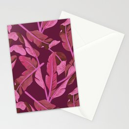 Tropical '17 - Ajaja [Banana Leaves] Stationery Cards