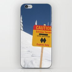 Signs Of Danger iPhone & iPod Skin