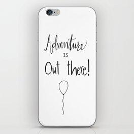 adventure iPhone Skin