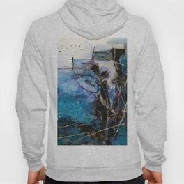 Midnight Sky, Acrylic artwork Hoody