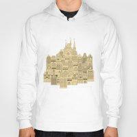 medieval Hoodies featuring medieval houses  by Elena Trupak