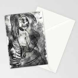 The Sweet Embrace Of Death Stationery Cards