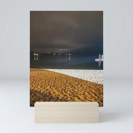 Sag Harbor @ Night Mini Art Print