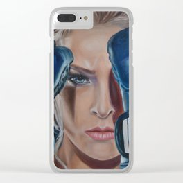 Ronda Rousey Clear iPhone Case