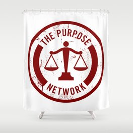 The Purpose Network Shower Curtain