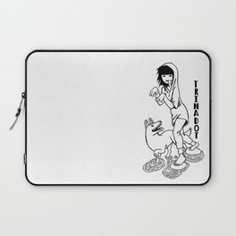 Trinadot Bea and Dog Laptop Sleeve