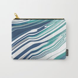 Digital Marble Carry-All Pouch