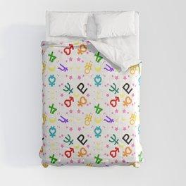 sailor moon vuiton inspired pattern Comforters