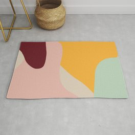 Ziz Abstract Painting Rug