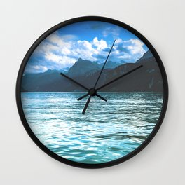 Lake Lucerne, Switzerland Wall Clock